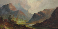 Highland landscape painting by Francis Jamieson