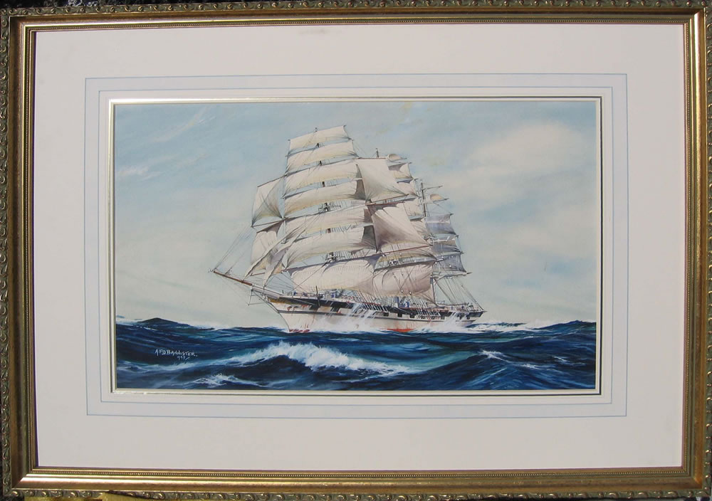Afd Bannister Oil Painting