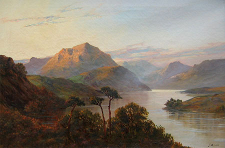 Detail from Kyles of Bute by J Brill