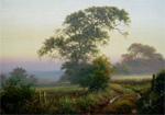 David Dipnall painting Dawn Song