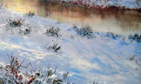Detail from January by David Dipnall