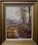 David Dipnall painting of Autumn Trail