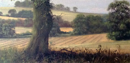 Detail from painting Late Summer by David Dipnall