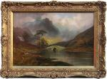 Highland landscape painting by Jamieson