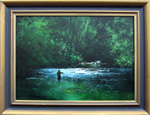 Denis Kent painting | The Green Pool