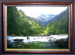 Denis Kent painting | New Zealand Fly Fishing
