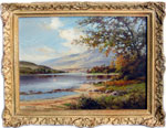 William McGregor painting Loch Long