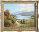 William McGregor painting of Loch Lomond
