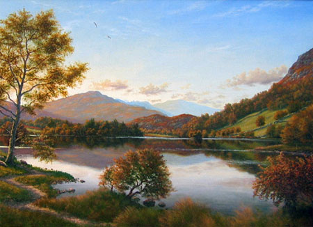 Detail from Rydal Water by Peter McKay