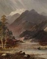 D Norris painting of Highland Peaks