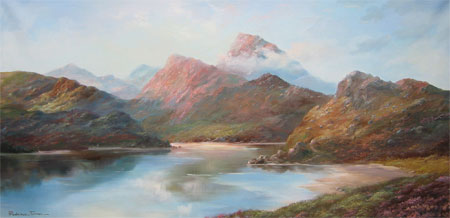 Detail from Nature Reserve in Wester Ross by Prudence Turner